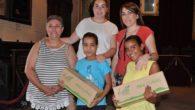 Almodóvar del Campo despide a las dos niñas saharauis que este domingo retornan a Tindouf