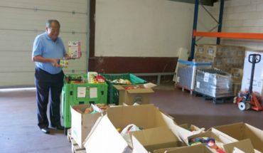 Corral de Calatrava se vuelca con el Banco de Alimentos ciudadrealeño entregando 800 kilos de productos