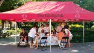 Cruz Roja Almodóvar da consejos para evitar el calor de estas fechas y toma las constantes vitales