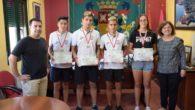 El Ayuntamiento de Argamasilla de Alba reconoce a cuatro jóvenes deportistas