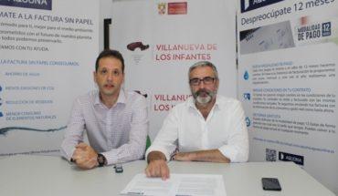 El Ayuntamiento de Villanueva de los Infantes y Aquona crean un Fondo Social para familias vulnerables