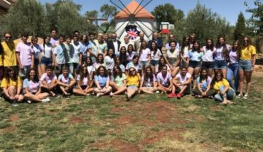 El Gobierno regional felicita al alumnado de Secundaria que ha participado en el programa de inmersión lingüística en inglés de Iberdrola