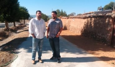 Hinojosas ha recibido de la Diputación inversiones por valor de 120.000 euros