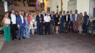 La alcaldesa alcazareña acompañó a los quereños en el pregón e inicio de sus fiestas