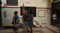 La alcaldesa de Ciudad Real visita las obras de pintura y reparación del colegio público José María de la Fuente