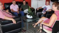 La alcaldesa se reúne con la directiva del Sporting de Alcázar para seguir potenciando la cantera