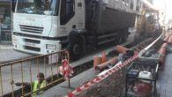 Más inversiones en la renovación de la red de saneamiento de calle Castelar de Puertollano