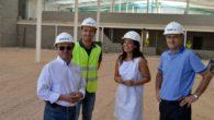 Pilar Zamora visita la obra de los nuevos almacenes municipales que se encuentran al 65% de ejecución