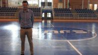 Presentada la nueva pista de parqué de fútbol sala del pabellón 'Virgen de la Cabeza' de Valdepeñas