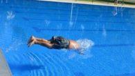 Primeros baños en la nueva piscina olímpica del Polideportivo Rey Juan Carlos I de Ciudad Real