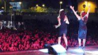 Alrededor de 3.000 personas asistieron al concierto solidario de Azucar Moreno en Daimiel