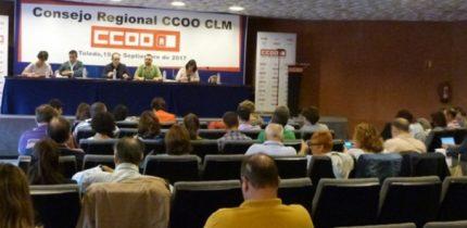 """De la Rosa: """"Las CCOO son la herramienta más útil para los trabajadores y trabajadoras"""""""
