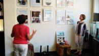 El bienestar espiritual del yoga en una exposición en la joyería Carbono Puro de Puertollano