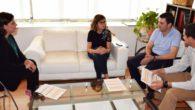 El colegio San José de Puertollano presenta a la alcaldesa las actividades de su 50 aniversario