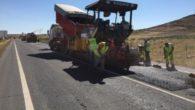 El Gobierno de Castilla-La Mancha visita las obras de reparación que abarcan más de 20 kilómetros de la CM-410 entre Mora y Tembleque