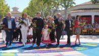 """El Gobierno regional reconoce la labor de la Asociación Cultural 'La Peña El Templete', """"llenando de color, ilusión y devoción la Feria de Albacete"""""""