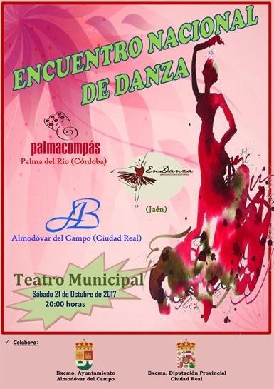 Cartel del Encuentro Nacional de Danza de 2017