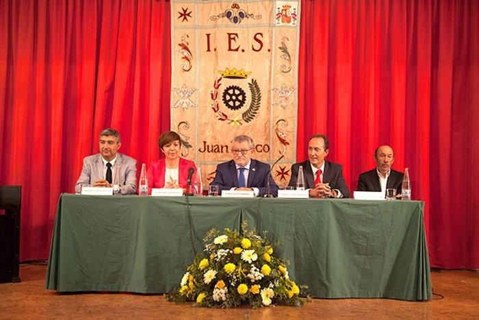 acto de inauguración del curso 2017-2018 del IES Juan Bosco de Alcázar de San Juan