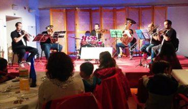La Sala de las Cerchas acogió la actuación de 'Los WonderBrass' dentro de la programación las 'II Veladas' de los Amigos del Patio de Comedias de Torralba de Calatrava