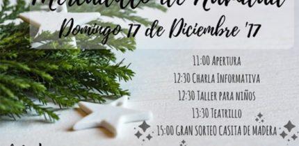 Mercadillo de Navidad el domingo día 17 de diciembre en La Poblachuela