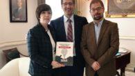 La alcaldesa alcazareña presente en el acto de la Diputación en honor a los represaliados del franquismo