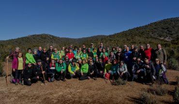 "El Club Pozo Norte realiza la ruta senderista de ""La senda de La Viñuela"""
