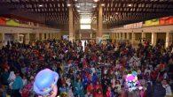 Los pequeños de la casa disfrutan del Carnaval  con una gran fiesta infantil en el Pabellón Ferial de Ciudad Real