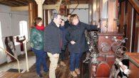 Olmedo conoce el proyecto museístico de la antigua Fábrica de Harinas que pretende impulsar el Ayuntamiento de Pedro Muñoz